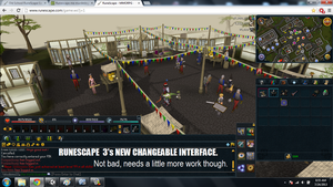 RUNESCAPE 3 interface. by ownerfate