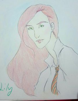 Lily Evans by R-I-M-F-009