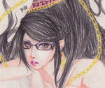Bayonetta by redgreave