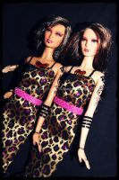 Tattooed Barbie Sisters by GrotesqueDarling13