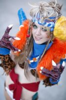 Rikku at AAC2013 by KrazedChaos