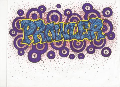 Prowler - Graffiti by Emalynne-Blackwell
