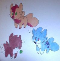 CHEAP Puppy Adopts :3/3 OPEN: by wightravenadoptables