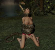 jungle girl python 27 by Gorgogorgo
