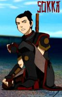 Bizarro Avatarverse: Sokka by Youkai-Slayer