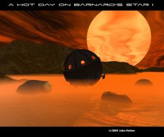 A hot day on Barnard's Star I by kedamono-mizudori