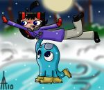 Ice Skating -Colored- CONTEST by Taon-the-Chosen