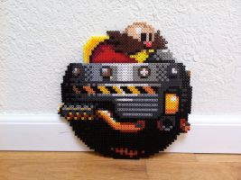Dr. Robotnik Bead Sprite by Night-TAG