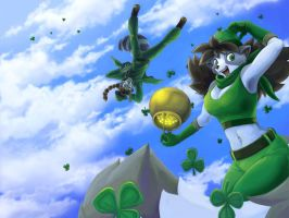 Shamrock Freefall by workshop