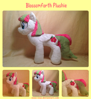 Blossomforth Plush by NoxxPlush