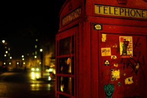 Phone Box by abhenna