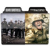 Band of Brothers + The Pacific Folder Icon by Necris05