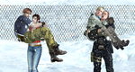 Happy in the cold by ChrisTalyus