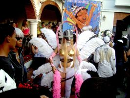 Angewomon Cosplay Feria Mundo Anime 2012 by EnriqueNg
