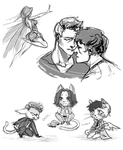 Sketches - SPN by Hi-Ku