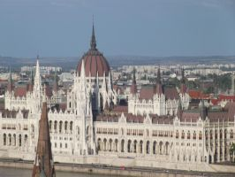 Budapest: Hungarian Parliament Building #2 by jadedlioness
