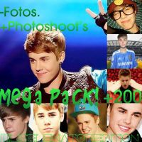 Justin Bieber MEGA PACK +200 fotos. by MiliSelenatorEdition