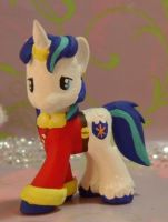 Wedding Shining Armor G4 Blind Bag Custom by SanadaOokmai