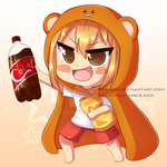 Himouto! Umaru-chan! + Speedpaint/draw by DreaChu