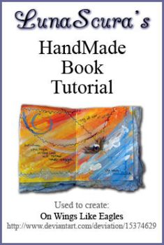 Hand-Made Book Tutorial by lunascura