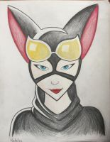 Catwoman by LadyVoodooGirl