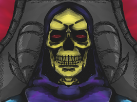 He-man: Master of the Universe : Skeletor by dragonfire53511