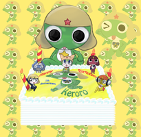 Happy Birthday Keroro by Sutata