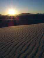 White Sands at Sunset by Number1Noel