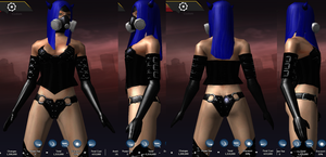 Devil Rayvyn, Alt Outfit 3 by AriaMournesong