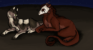 iScribble Collab #9 by Silvadruid