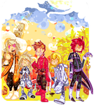 Pixel art - Tales of symphonia by Cheapcookie