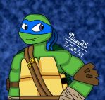 Leonardo: The Leader in Blue by Nicsu25