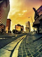 Downtown LA Fisheye Fun by SNTP