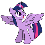 Twilight Sparkle Vector by artwork-tee