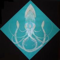 Squid Mandala by inner-etch