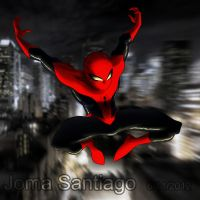 Spidey jumps into action by joma33