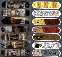 Wild Things Skateboards by BrianDanielWolf