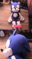 Sonic Plushie by s325Diana