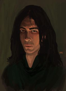 Not Severus Snape by CountBlackula