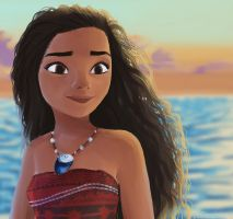 Moana by Jeffanime