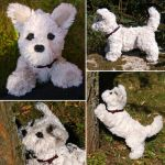 Sparky the West Highland White Terrier by demiveemon