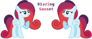 ADOPTABLE: Blazing Sunset 10 POINTS by Sky-Winds