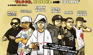 Blood, Honour and Cocaine by michaelfirman