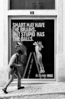 Smart may have the brains... by JACAC