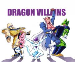 dragon villians by frieza-love