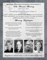 APSA 10th Annual Meeting Flyer by Kezhound