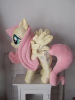 My Little Pony Fluttershy Plushie by CINNAMON-STITCH