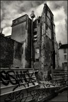 La destruction de Paris - 2 by SUDOR