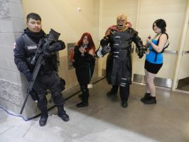 Phoenix Comicon 2015 Resident Evil Nemesis by Demon-Lord-Cosplay