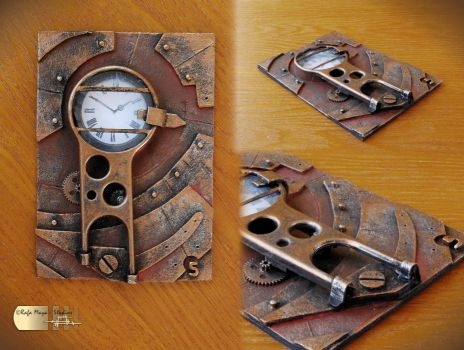 Steampunk ACEO V by Diarment